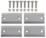 Aluminum Shim Kit for TracRac TracVan Ladder Racks - Qty 4