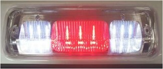 Fully lit Pilot third brake light