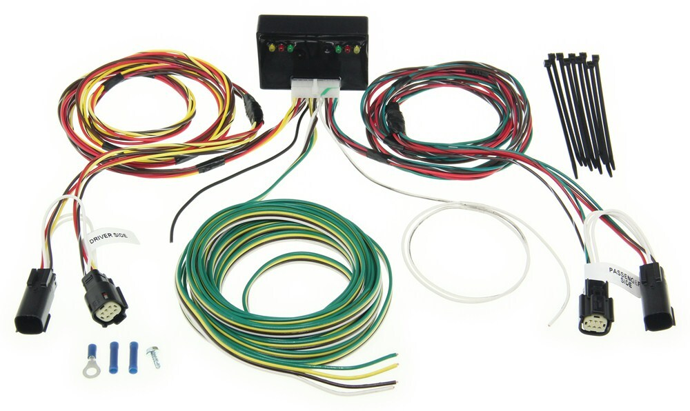 towdaddy custom tail light wiring kit for towed vehicles. Black Bedroom Furniture Sets. Home Design Ideas