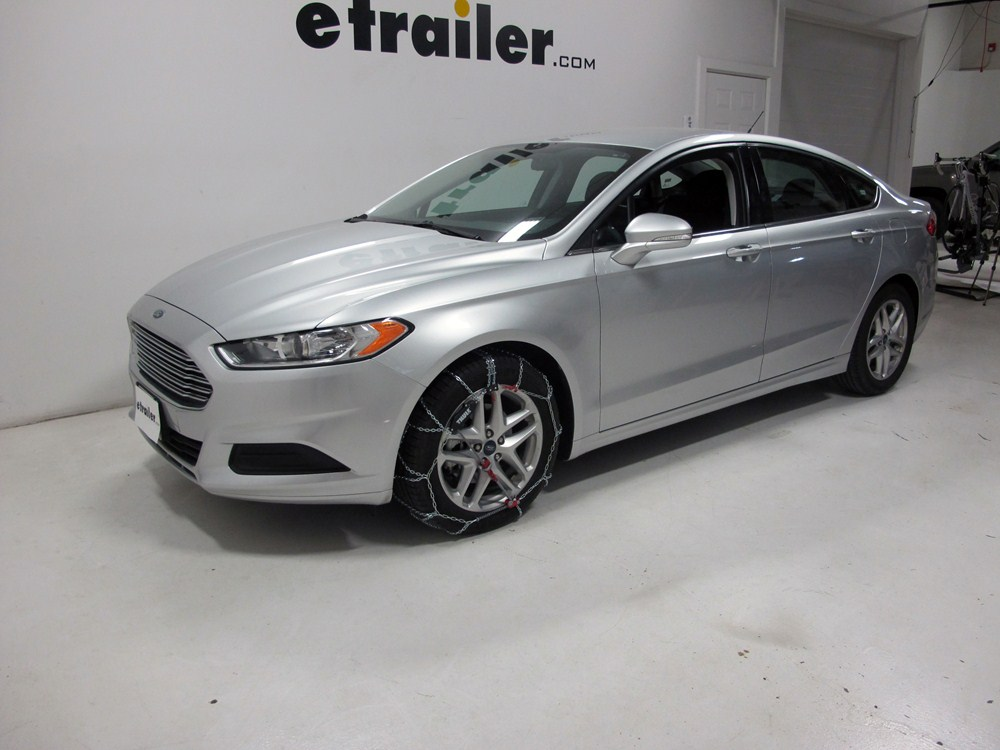 Ford fusion sport snow tires