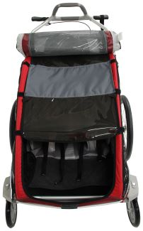 Thule CX adjustable suspension for child carrier