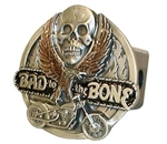 "Bad to the Bone Trailer Hitch Cover for 2"" Trailer Hitches"