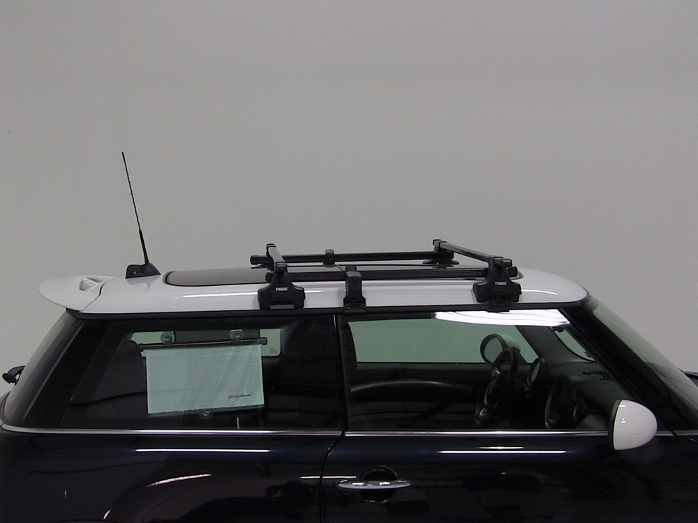 Installation Of The Thule Traverse Roof Rack On A 2013  Thule Roof Rack for 2013 Mini Cooper | etrailer.com