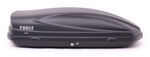 Thule Force Large Rooftop Cargo Box - 13 cu ft - AeroSkin Black