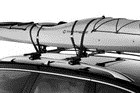 Thule Top Deck Rooftop Kayak Carrier System with Tie Downs