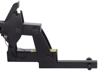 Thule T2 sliding rear wheel tray with straps