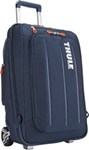 Thule Crossover Rolling Carry-On Suitcase and Backpack with Laptop Sleeve - 38 Liter - Stratus Blue