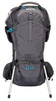 Aluminum kickstand on Sapling child backpack