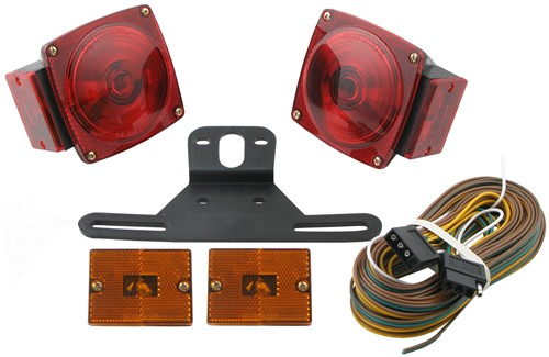 standard trailer light kit with 25' wire harness optronics ... shorelander trailer wiring harness