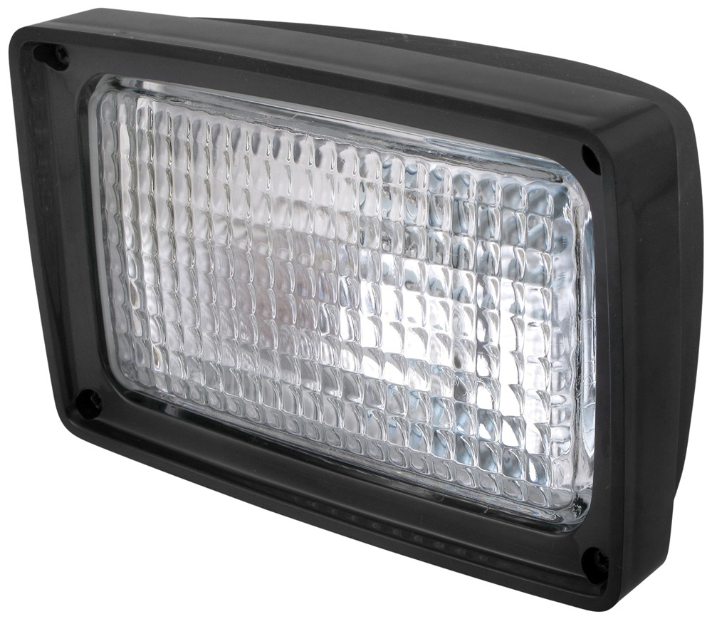 Tractor Utility Lights : Quot rectangular tractor and utility light w flood