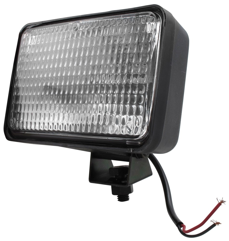 6 Volt Tractor Lights : Quot rectangular tractor and utility light w flood