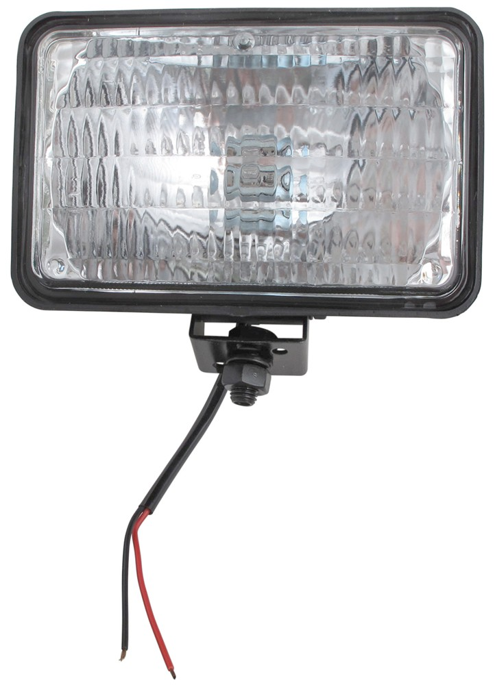 4 U0026quot  X 6 U0026quot  Rectangular Tractor And Utility Light W   Trapezoidal Beam  2 Wire Optronics Trailer
