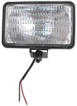 "4"" x 6"" Rectangular Tractor and Utility Light w/ Trapezoidal Beam, 2 Wire"