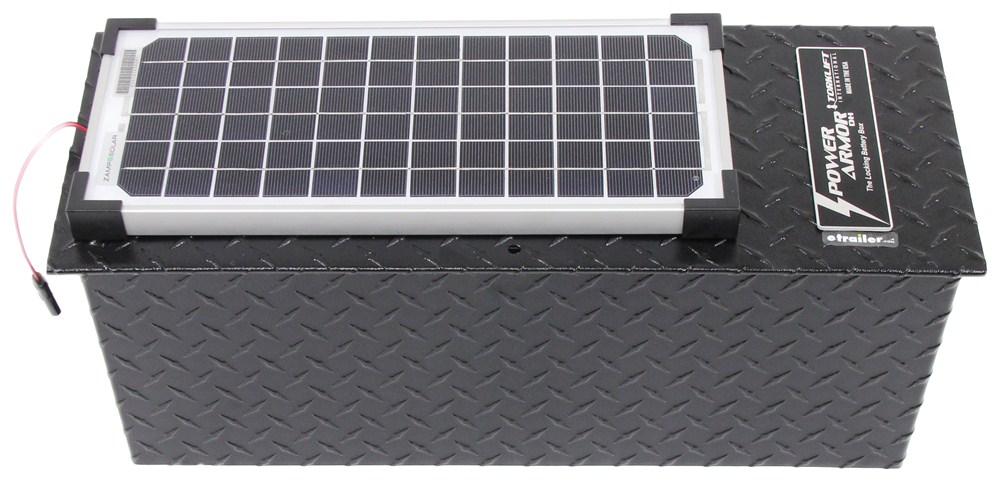 Solar System For Rv Battery Box : Torklift powerarmor solar locking battery box for trailer