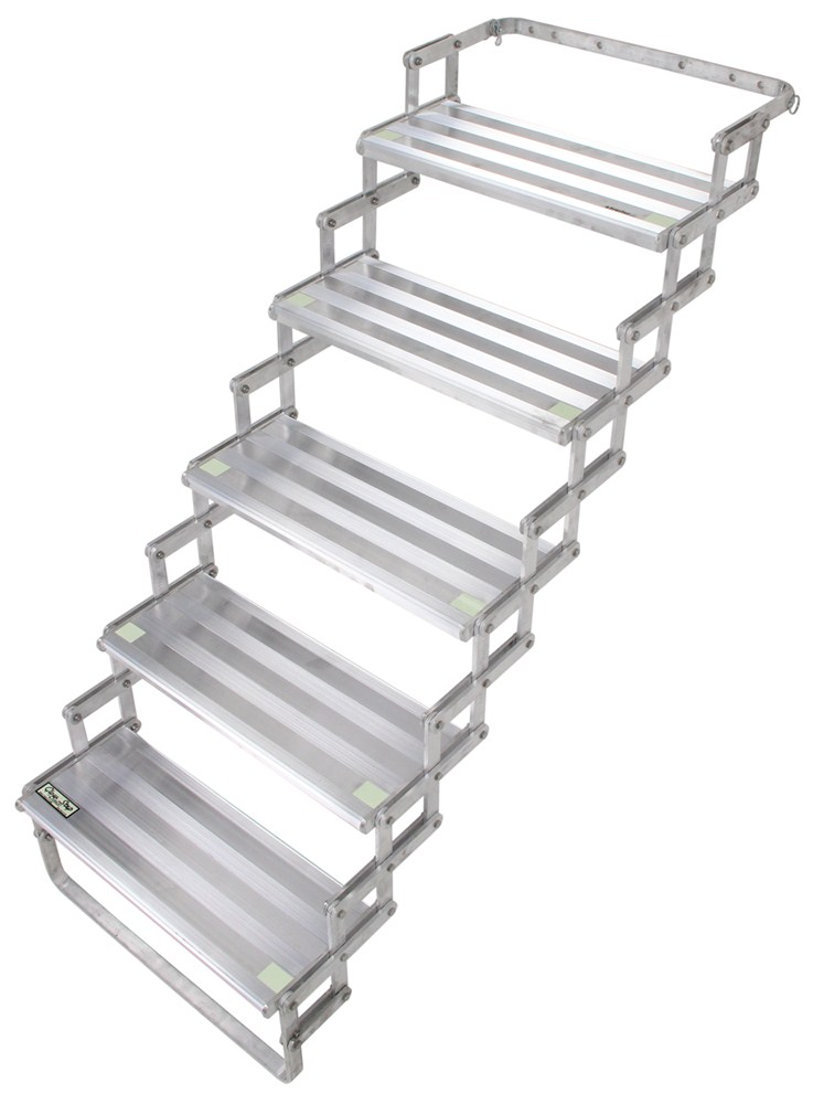 Stairs For Rvs : Torklift glowstep scissor steps for campers rvs and