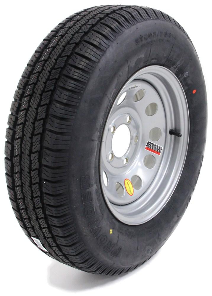 provider st205 75r14 trailer tire w 14 silver mod wheel 5 on 4 1 2 lr c taskmaster tires. Black Bedroom Furniture Sets. Home Design Ideas
