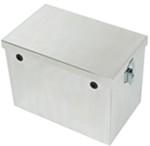 "Tow-Rax Battery Box - Polished Aluminum - 12"" Long x 8-5/8"" Wide x 10-7/16"" Tall"