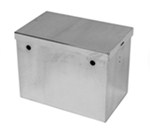 "Tow-Rax Battery Box - Polished Aluminum - 14"" Long x 8-5/8"" Wide x 10-7/16"" Tall"