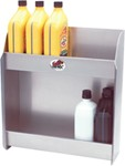 "Tow-Rax Aluminum Storage Cabinet w/ 2 Shelves - 18"" Tall x 17"" Wide x 6"" Deep"