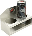 Tow-Rax 2-Cup Drink Holder - Aluminum