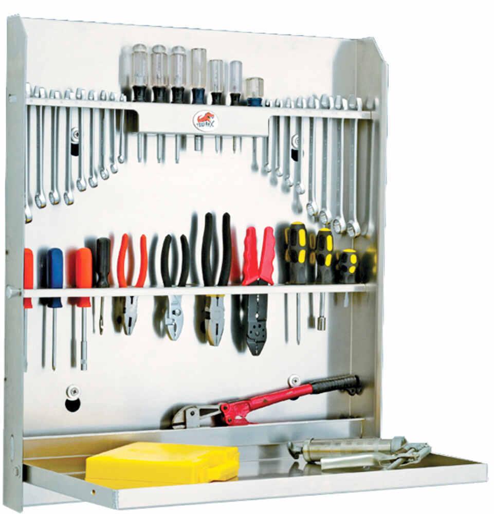 Tow Rax Aluminum Tool Cabinet W Folding Tray 30 Quot Tall X