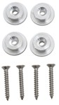 Mounting Buttons for Tow-Rax Wall Mounted Folding Table - Aluminum - 3 mm