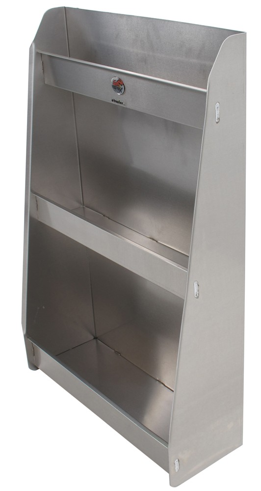 retail kitchen cabinets tow rax aluminum storage cabinet w 3 shelves 36 quot x 1924
