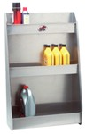 "Tow-Rax Aluminum Storage Cabinet w/ 3 Shelves - 36"" Tall x 23"" Wide x 9"" Deep"