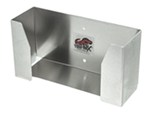 "Tow-Rax Disposable-Glove Dispenser Tray - Aluminum - 10"" x 5"" x 3-1/3"""