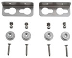 Mounting Bracket and Button Kit for Tow-Rax Shelves, Cabinets and Racks - Aluminum - 2.5 mm