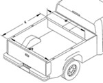 TruXedo Lo Pro QT Tonneau Cover - Special Order to Your Dimensions