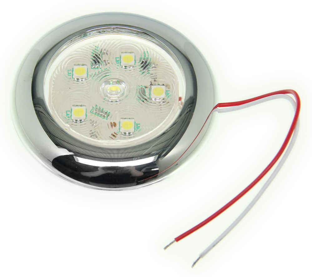 Led Utility Light : Led utility light diode sealed quot round clear w