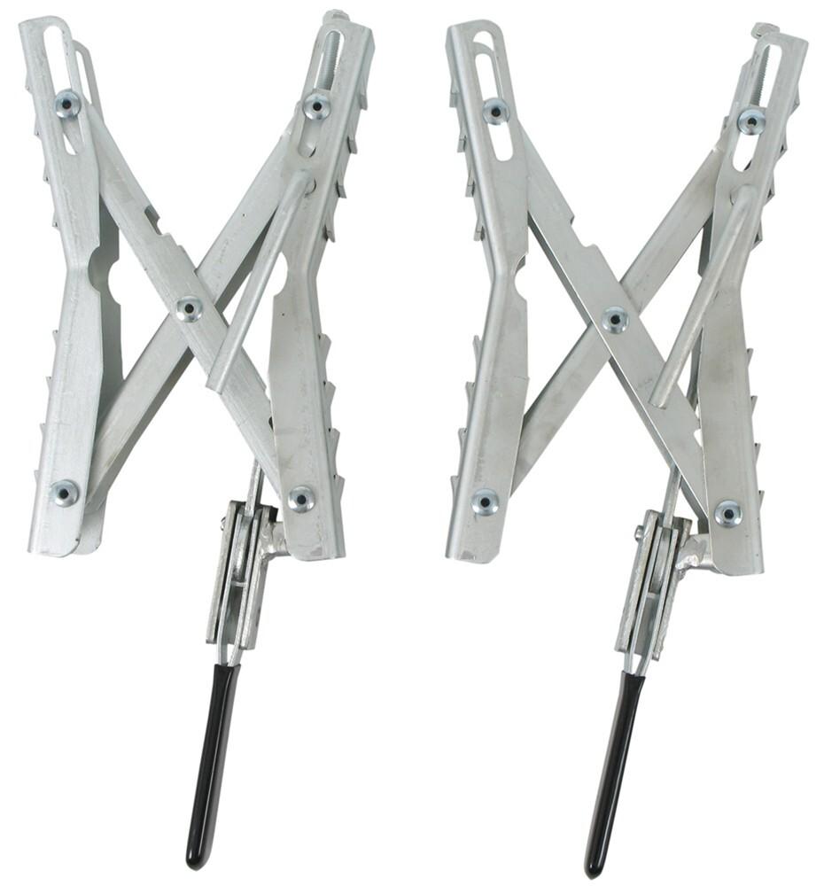 Camper Wheel Chocks >> Ultra-Fab Chock and Lock Wheel Stabilizers for Tandem-Axle