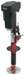 "Ultra-Fab Electric A-Frame Jack - Drop Leg - 18"" Lift - 3,500 lbs - 2"" O.D."
