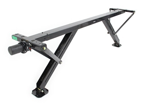 Travel Trailer Towing Stabilizer : Ultra fab rear electric stabilizer for trailers and rvs