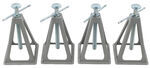 Ultra-Fab Stackable Stabilizers for Small Trailers and Campers - 6,000 lbs - Qty 4