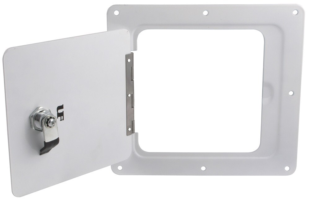 Trailer Access Door : Ultra fab universal access door for trailers and rvs