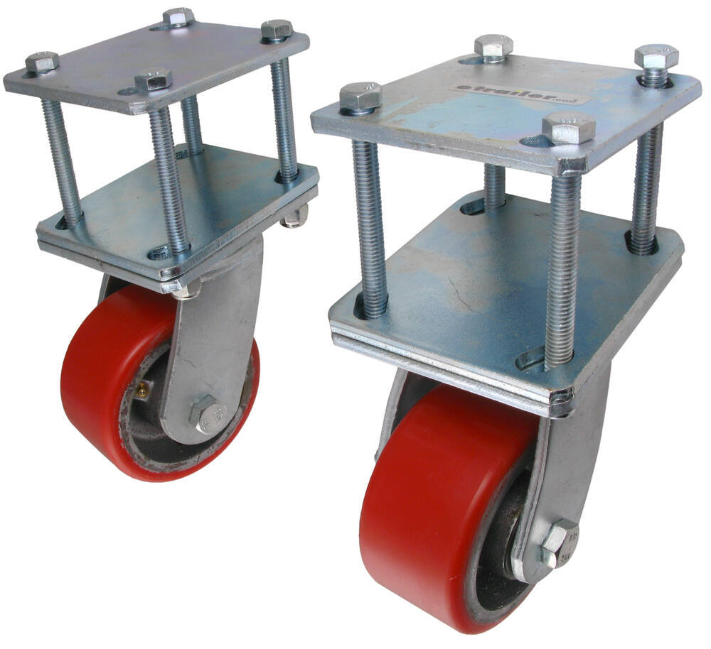 Wheel Mounted On Boats : Ultra fab rotating hitch mounted skid wheels for rvs up