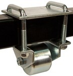 "Ultra-Fab Hitch Mounted Steel Rollers for RVs w/ 3"" Hitch Tubing - 3"" Diameter - Qty 2"