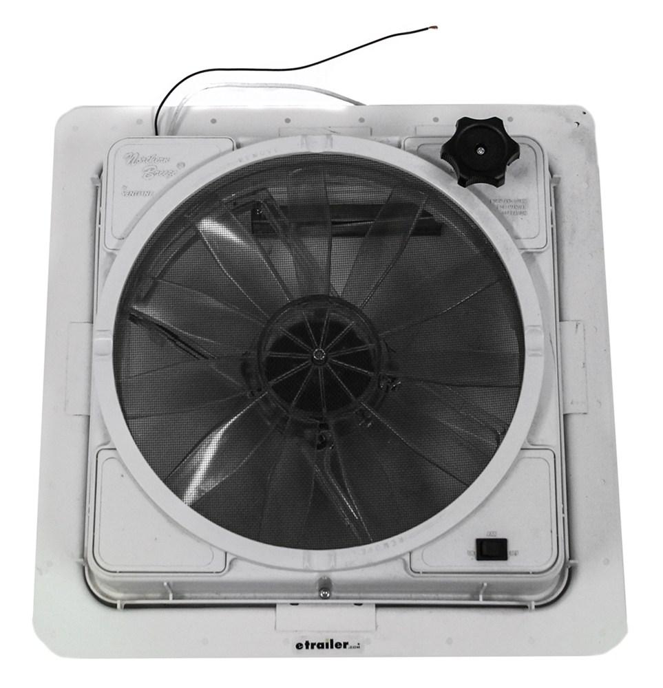 Rv Exhaust Fan : Ventline northern breeze rv roof vent w v fan manual