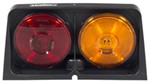 Replacement Wesbar Agriculture Light w/ Brake Light Function - Amber/Red - Driver's Side