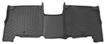 WeatherTech 2nd Row Rear Auto Floor Mat - Black