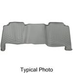 WeatherTech 3rd Row Rear Auto Floor Mat - Gray