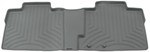 WeatherTech 2nd Row Rear Auto Floor Mat - Gray
