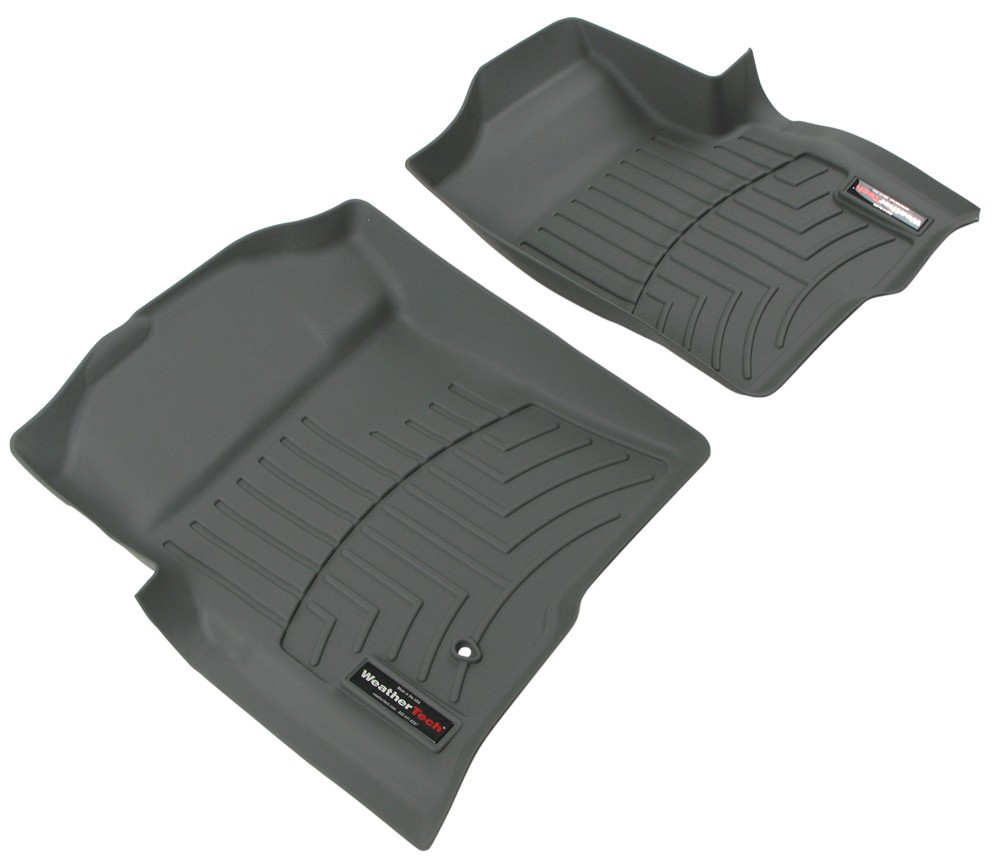 Custom Car Floor Liners ... Front Auto Floor Mats - Gray WeatherTech Floor Mats WT461791