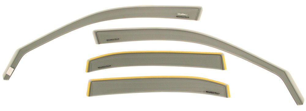 Air deflectors for 2002 honda civic weathertech wt72268 for 2002 honda civic rear window visor