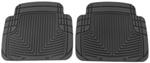 WeatherTech All-Weather Rear Floor Mats - Black