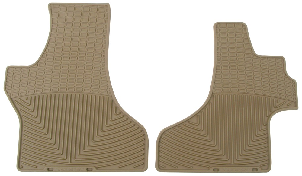Weathertech All Weather Front Floor Mats Tan Weathertech