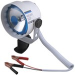 Glare-Free Saltwater/Marine Spotlight - 400,000 CP - Deck Mounted - 10' Power Cord