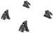 Yakima Q Towers Roof Rack Feet for Naked Roof (QTY 4)